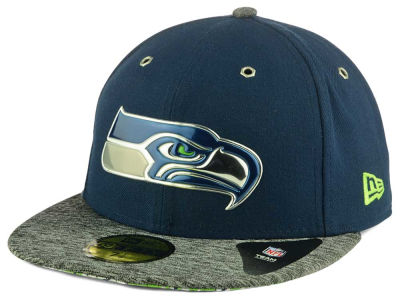 Seattle Seahawks 2016 NFL Draft On Stage 59FIFTY Cap Hats