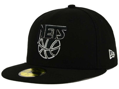 New Jersey Nets NBA HWC 2 Tone Basic 59FIFTY Cap Hats