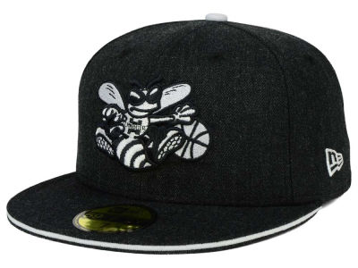 Charlotte Hornets HWC Heather Slice 59FIFTY Cap Hats