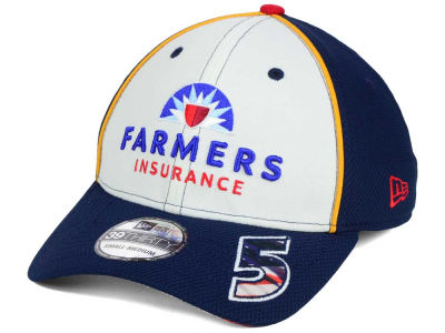 Kasey Kahne NASCAR 2016 American Salute 39THIRTY Cap Hats