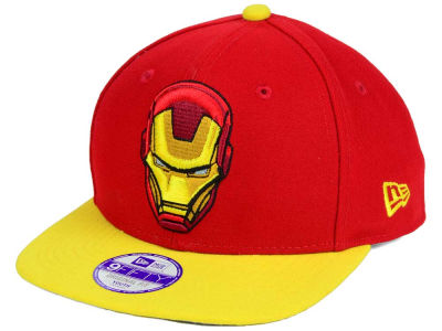 Marvel Jr Logo Grand 9FIFTY Snapback Cap Hats