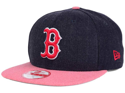 Boston Red Sox MLB Heather 2 Tone 9FIFTY Snapback Cap Hats