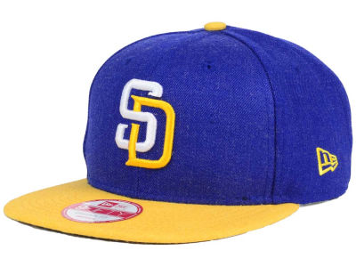 San Diego Padres MLB Heather 2 Tone 9FIFTY Snapback Cap Hats