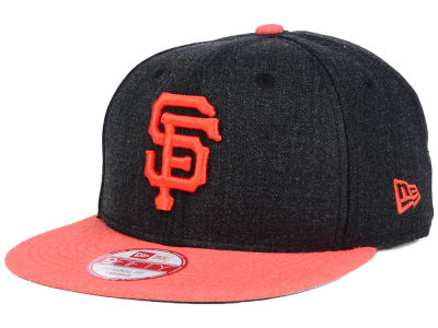 San Francisco Giants MLB Heather 2 Tone 9FIFTY Snapback Cap Hats