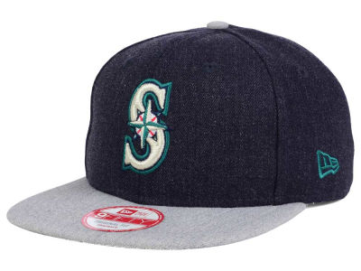 Seattle Mariners MLB Heather 2 Tone 9FIFTY Snapback Cap Hats