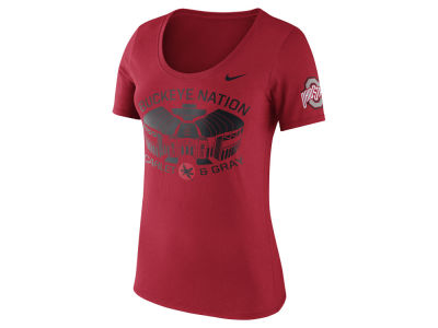 Nike NCAA Women's Campus Elements Scoop T-Shirt