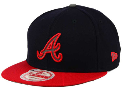 Atlanta Braves MLB Reflect On 9FIFTY Snapback Cap Hats