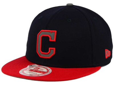 Cleveland Indians MLB Reflect On 9FIFTY Snapback Cap Hats