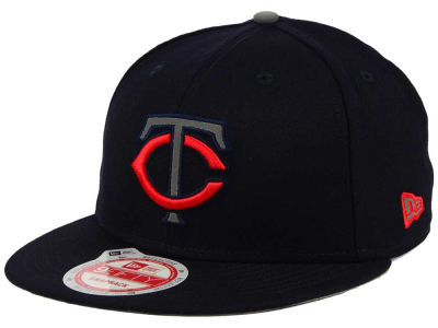 Minnesota Twins MLB Reflect On 9FIFTY Snapback Cap Hats