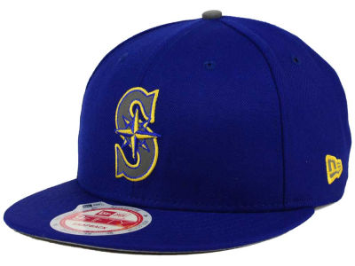 Seattle Mariners MLB Reflect On 9FIFTY Snapback Cap Hats