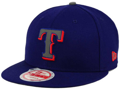 Texas Rangers MLB Reflect On 9FIFTY Snapback Cap Hats