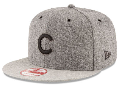 Chicago Cubs MLB 2 Tweed 9FIFTY Snapback Cap Hats