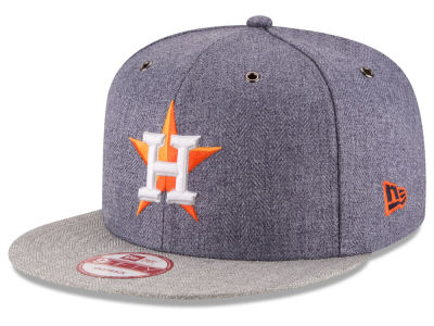 Houston Astros MLB 2 Tweed 9FIFTY Snapback Cap Hats