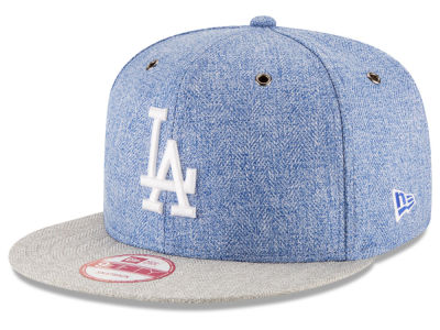 Los Angeles Dodgers MLB 2 Tweed 9FIFTY Snapback Cap Hats