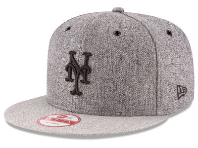 New York Mets MLB 2 Tweed 9FIFTY Snapback Cap Hats