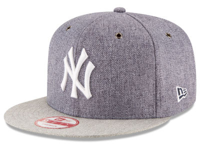 New York Yankees MLB 2 Tweed 9FIFTY Snapback Cap Hats
