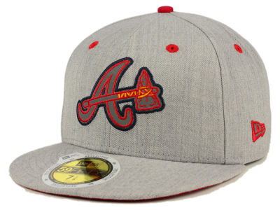 Atlanta Braves MLB Total Reflective 59FIFTY Cap Hats