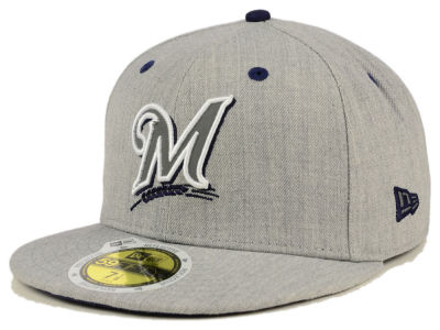 Milwaukee Brewers MLB Total Reflective 59FIFTY Cap Hats