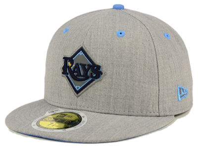 Tampa Bay Rays MLB Total Reflective 59FIFTY Cap Hats