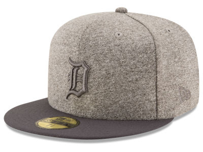 Detroit Tigers MLB Shady Gray 59FIFTY Cap Hats