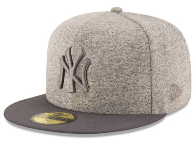 New York Yankees MLB Shady Gray 59FIFTY Cap Hats