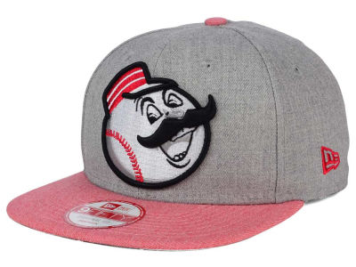 Cincinnati Reds MLB Heather 2 Tone 9FIFTY Snapback Cap Hats