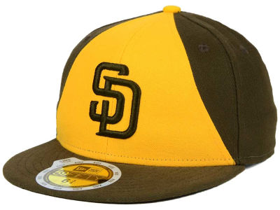 San Diego Padres MLB Authentic Collection 59FIFTY Cap Hats
