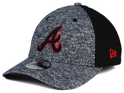 Atlanta Braves MLB Team Color Tech Fuse 39THIRTY Cap Hats