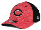Cincinnati Reds New Era MLB Team Color Tech Fuse 39THIRTY Cap Stretch Fitted Hats