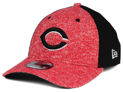 Cincinnati Reds MLB Team Color Tech Fuse 39THIRTY Cap Hats