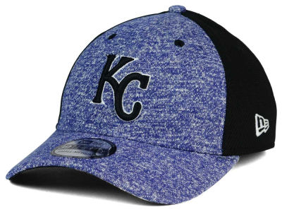 Kansas City Royals MLB Team Color Tech Fuse 39THIRTY Cap Hats
