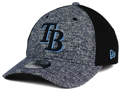 Tampa Bay Rays MLB Team Color Tech Fuse 39THIRTY Cap Hats