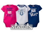 Indianapolis Colts NFL Newborn 3 Piece Creeper Set Infant Apparel