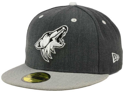 Arizona Coyotes NHL Graph on Heather 59FIFTY Cap Hats