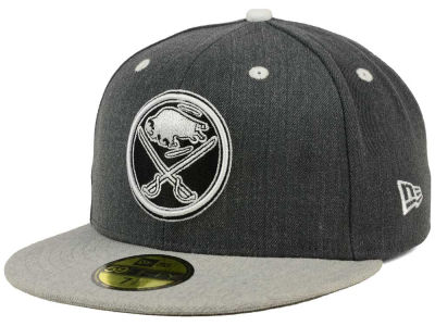 Buffalo Sabres NHL Graph on Heather 59FIFTY Cap Hats