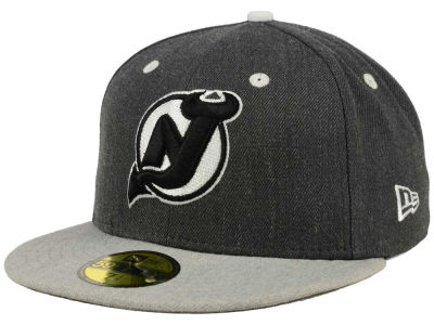 New Jersey Devils NHL Graph on Heather 59FIFTY Cap Hats