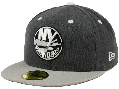 New York Islanders NHL Graph on Heather 59FIFTY Cap Hats