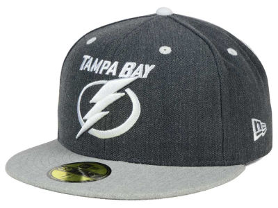 Tampa Bay Lightning NHL Graph on Heather 59FIFTY Cap Hats