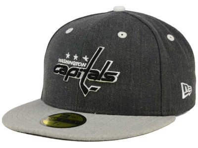 Washington Capitals NHL Graph on Heather 59FIFTY Cap Hats