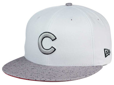 Chicago Cubs MLB Cement Hook 9FIFTY Snapback Cap Hats