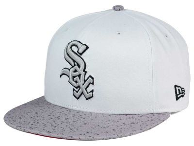 Chicago White Sox MLB Cement Hook 9FIFTY Snapback Cap Hats