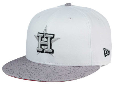 Houston Astros MLB Cement Hook 9FIFTY Snapback Cap Hats