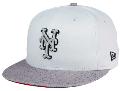 New York Mets MLB Cement Hook 9FIFTY Snapback Cap Hats