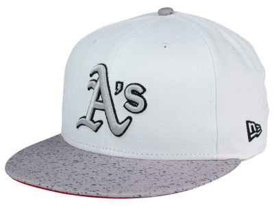 Oakland Athletics MLB Cement Hook 9FIFTY Snapback Cap Hats
