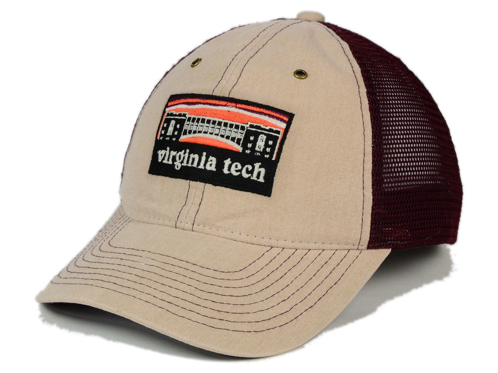 the best attitude f5ecd 9111a Virginia Tech Hokies Zephyr NCAA Landmark Mesh Hat well-wreapped