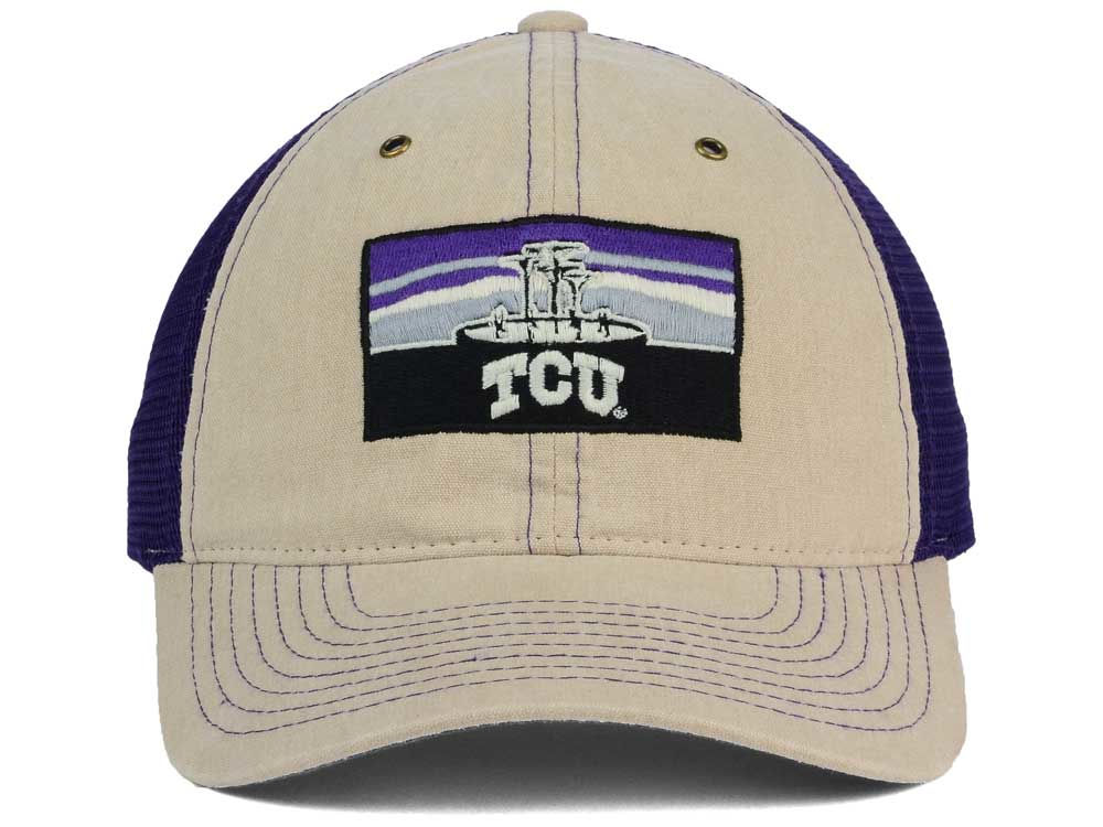 d365059c Texas Christian Horned Frogs Zephyr NCAA Landmark Mesh Hat hot sale ...