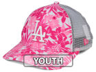 Los Angeles Dodgers New Era MLB Youth Flower Power 9FORTY Cap Adjustable Hats