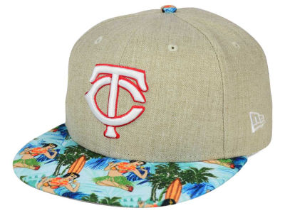 Minnesota Twins MLB Vacation Vize Snapback Cap Hats