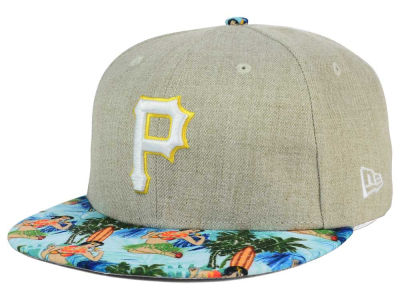 Pittsburgh Pirates MLB Vacation Vize Snapback Cap Hats