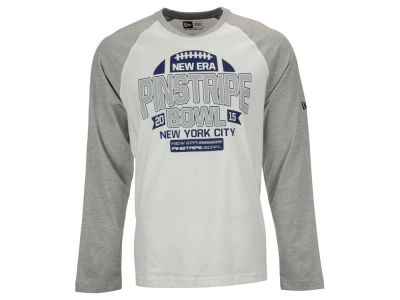 NCAA Men's Jersey Crew Long Sleeve Raglan T-Shirt